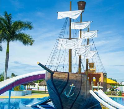 Área Infantil en Nuevo Vallarta Riviera Nayarit